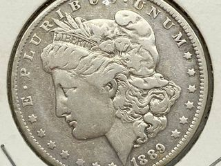 1889 O Morgan Silver Dollar Coin
