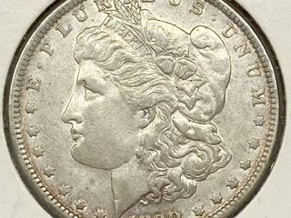1890 Morgan Silver Dollar Coin