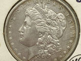 1886 O Morgan Silver Dollar Coin