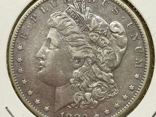 1883 O Morgan Silver Dollar Coin