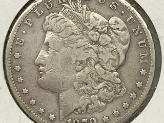 1879 S Morgan Silver Dollar Coin