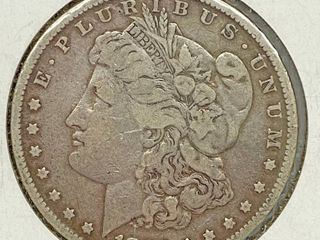 1882 Morgan Silver Dollar Coin