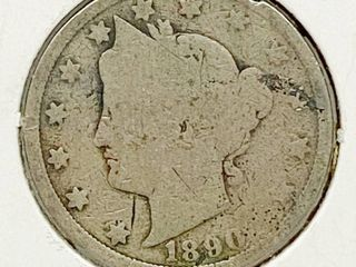 1890 liberty V Nickel