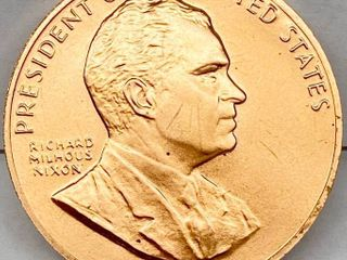 January 20  1969   Richard Nixon INAUGURATED PRESIDENT COIN