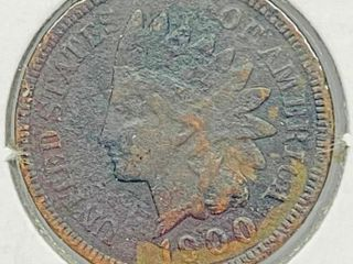 1900 Indian Head Penny Coin