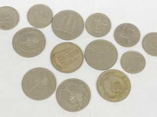 lot of 13   Misc Coins