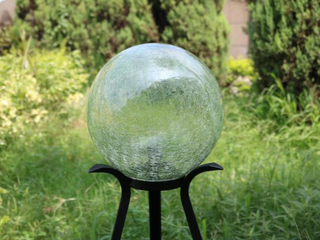 Green Solar Gazing Ball