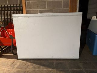 Freezer  located In Basement  Buyer Responsible For Removal