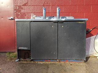 True Refrigerated Two Tap Kegerator TDD 2