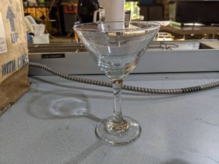 22  large Martini Glasses