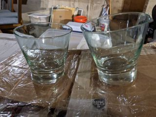 28  Green Cocktail Glasses