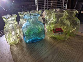 7  Glass Pitchers