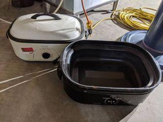 Roaster Ovens  lid Missing For One