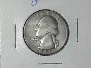 1942 S Washington Quarter