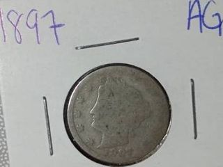 1897 liberty Nickel