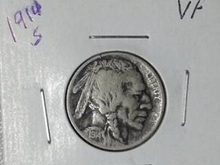 1914 S Buffalo Nickel
