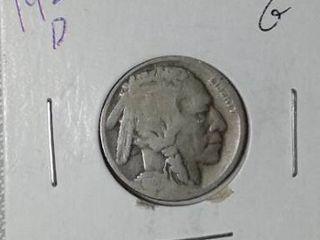 1920 D Buffalo Nickel