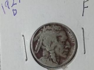 1927 D Buffalo Nickel