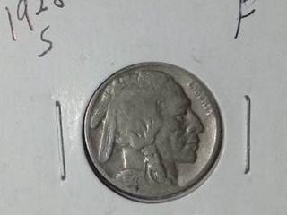 1928 S Buffalo Nickel