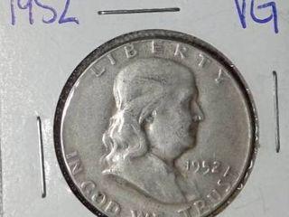 1952 Franklin Half Dollar