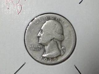 1939 D Washington Quarter