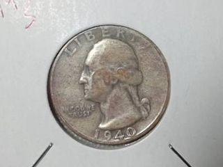 1940 S Washington Quarter