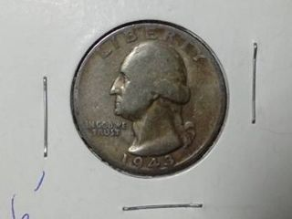 1943 Washington Quarter
