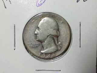 1946 Washington Quarter