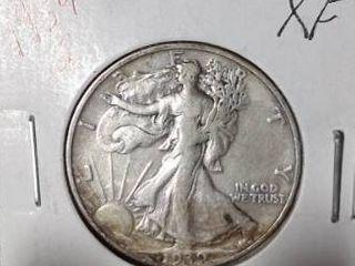 1939 S Walking liberty Half Dollar