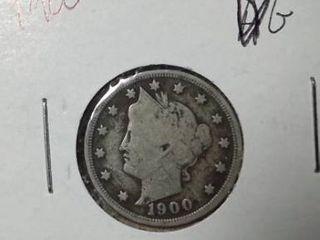 1900 liberty Nickel