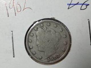 1902 liberty Nickel