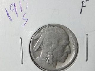 1917 S Buffalo Nickel