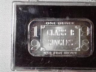 1998  1 troy oz  Class B Singles  bar