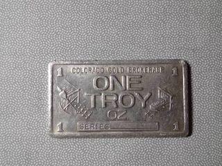1 troy oz Colorado Gold Brokerage Bar