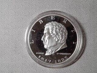 1 troy oz  Monroe Commemorative Coin