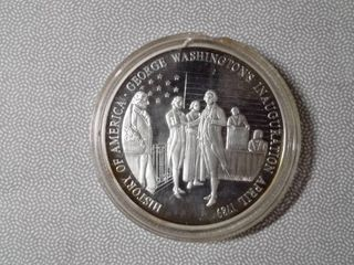 1 oz Fine Silver George Washington Inaugeration Coin