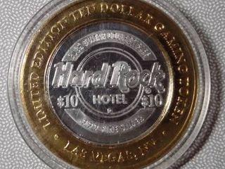Hard Rock Casino  10 Gaming Token