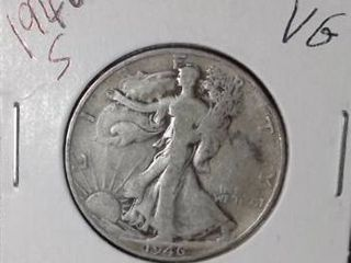 1946 S Walking liberty Half Dollar