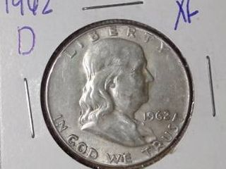 1962 D Franklin Half Dollar