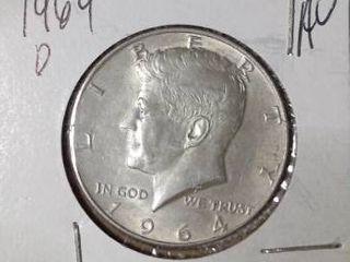 1964 D Franklin Half Dollar