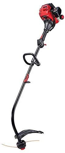 17 Inch Straight Shaft Gas String Trimmer With Attachment And Edger 2 Cycle 25cc