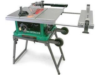 Hitachi Mobile Collapsible Table Saw