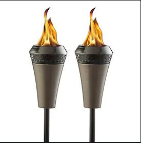 Set of 3 Tiki Torches