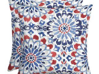 Arden Selections Clark 16 x 16 in  Outdoor Toss Pillow  Set of 2