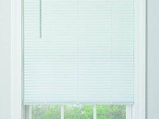 Cordless Vinyl 1  Mini blinds   35   X 64