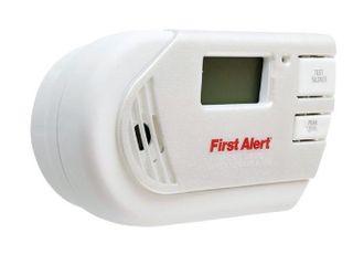First Alert 2 in 1 Z wave Smoke Detector   Carbon Monoxide Alarm