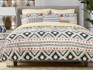 Explore 8 Piece Comforter Set   Full Queen