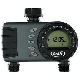 Orbit 2 Outlet Digital Water Timer