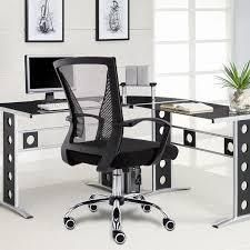 zuma black and grey office chair