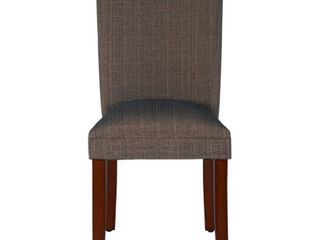 Parsons Dining Chair Brown   HomePop